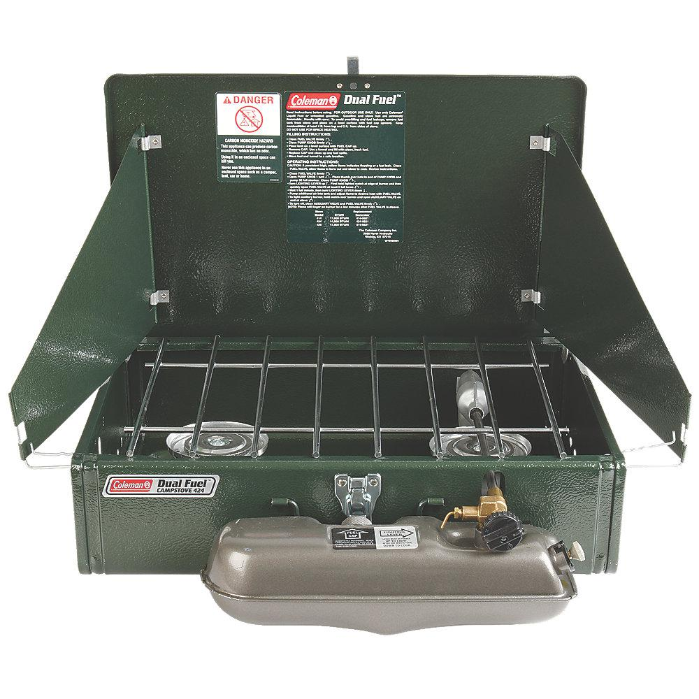 Coleman Dual Fuel 2 Burner Stove 3000003648 The Home Depot