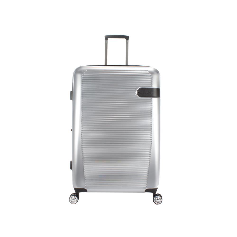 Glenn 29 in. Silver Hardside Spinner Luggage