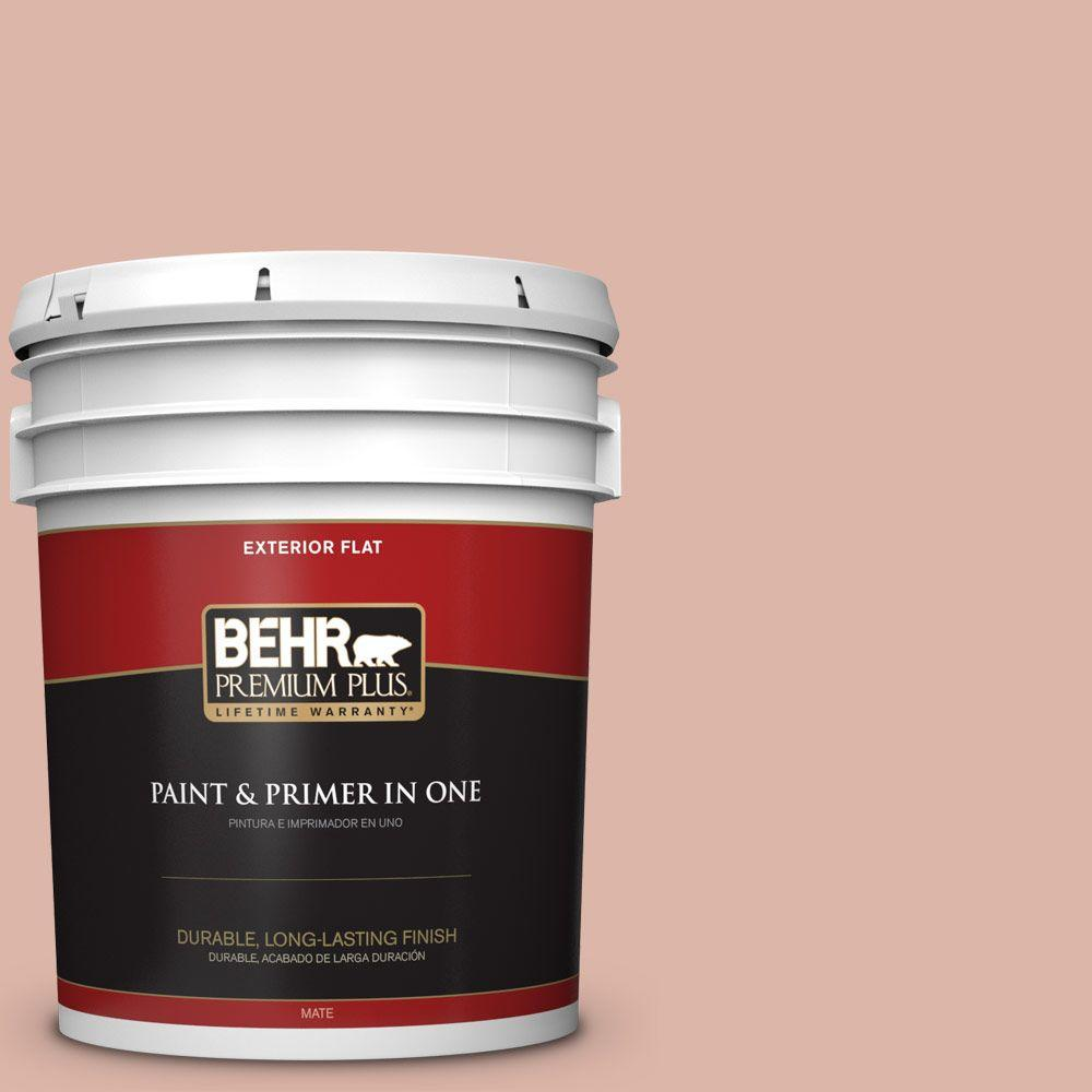 5-gal. #220E-3 Melted Ice Cream Flat Exterior Paint