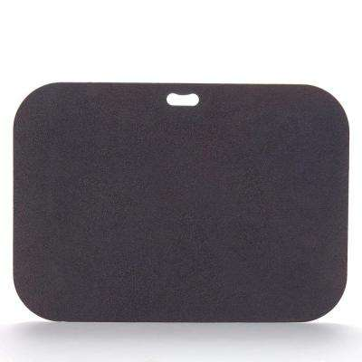 42 in. x 30 in. Rectangular Berry Black Deck Protector