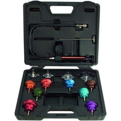 Deluxe Auitomotive Cooling System Test Kit Set (14-Piece)
