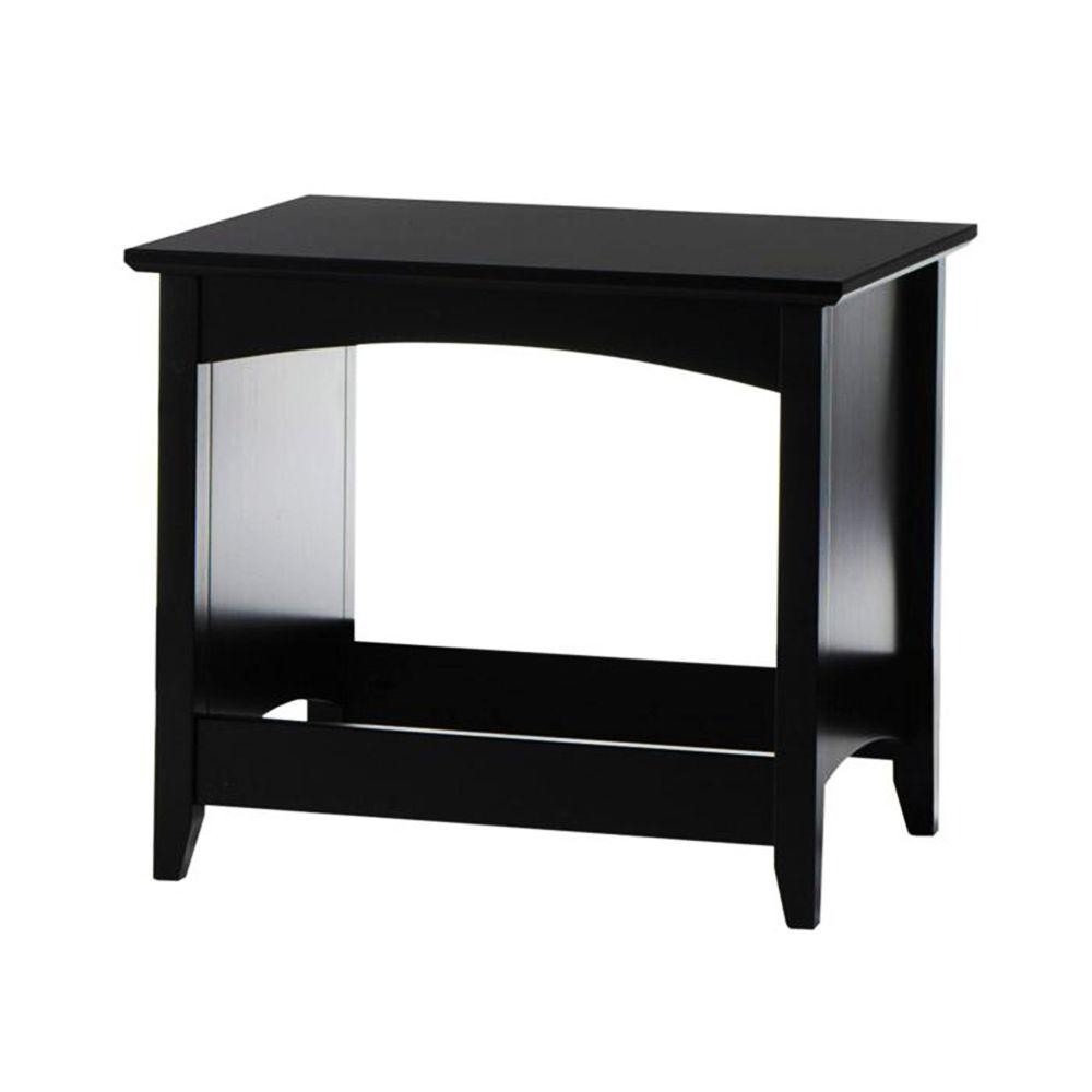 Home Decorators Collection Hawthorne 21 in. W Black Bench