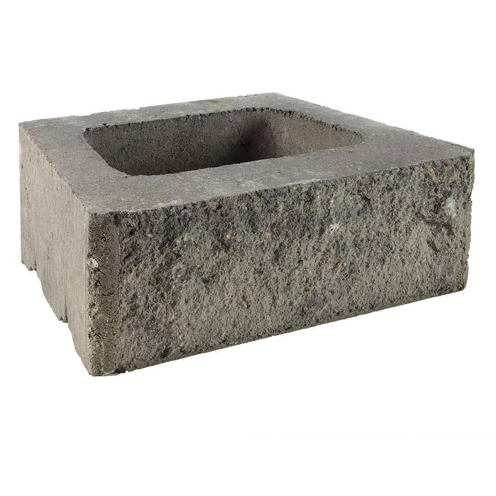 Pavestone ProMuro 6 in. x 18 in. x 12 in. Granite Blend Concrete Retaining Wall Block (40-Pieces/30 Face feet/Pallet)