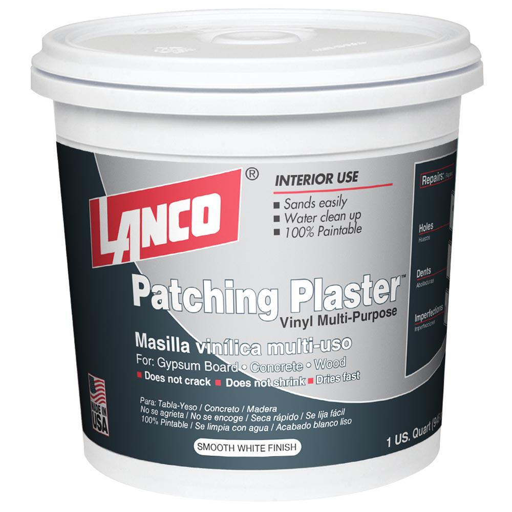 Lanco 1 Qt Patching Plaster Pp223 5 The Home Depot