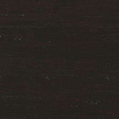 Hand Scraped Strand Woven Berkshire 3/8 in. T x 5-1/8 in. W x 72-7/8 in. L Engineered Click Bamboo Flooring