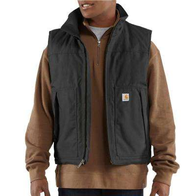 Men's Extra Large Black Cotton/Polyester Quick Duck Jefferson Vest