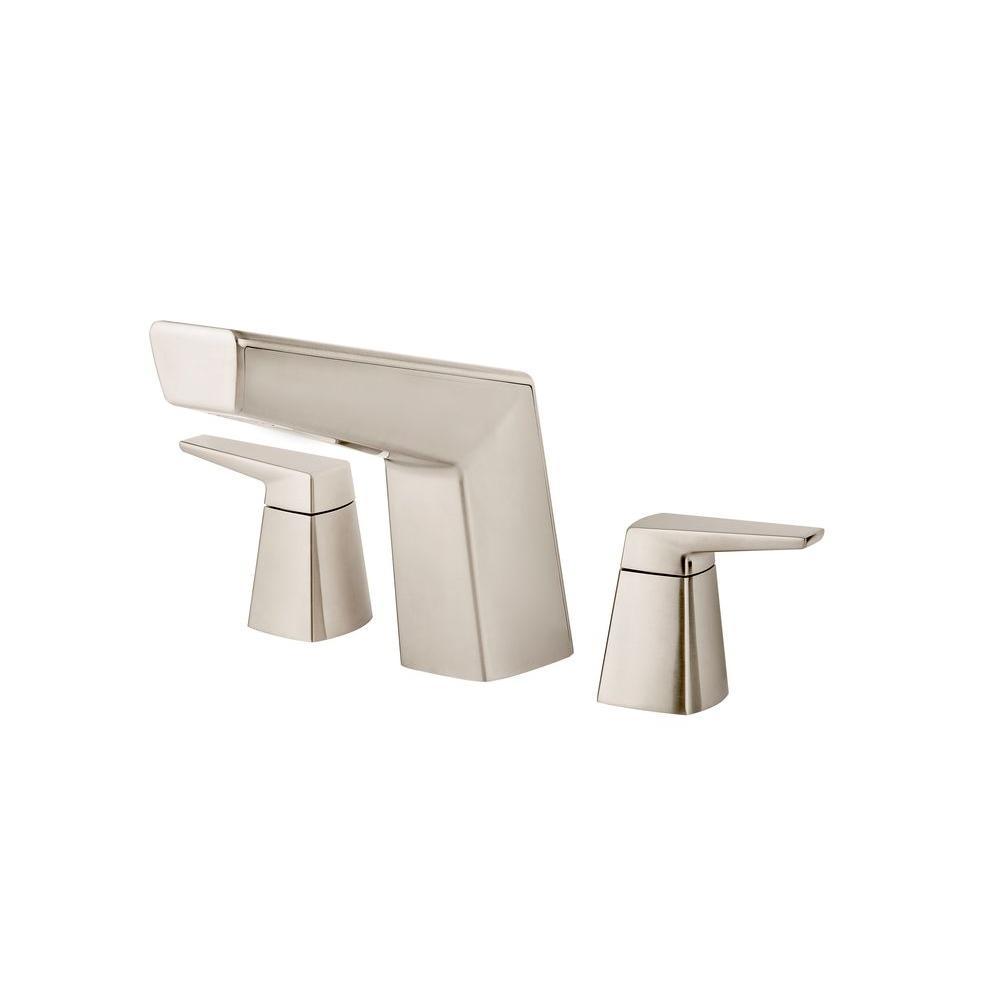 Pfister Arkitek 2-Handle Deck-Mount Roman Tub Faucet Trim Kit in ...