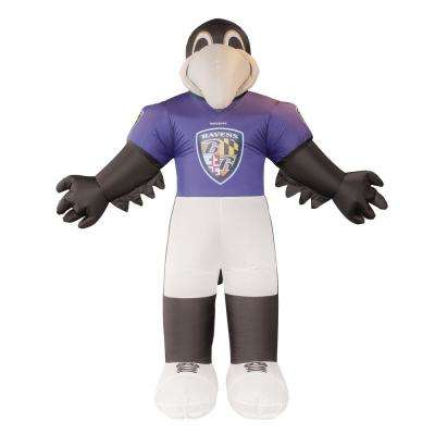 7 ft. Baltimore Ravens Inflatable Mascot