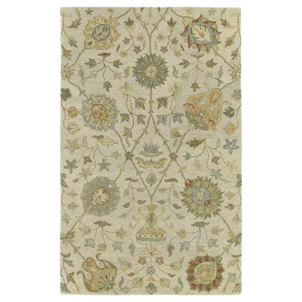Kaleen Helena Turquoise Area Rug Reviews: Kaleen Helena Aphrodite Ivory 5 Ft. X 7 Ft. 9 In. Area Rug