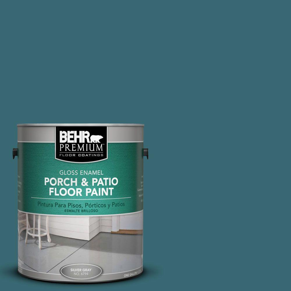 Behr Premium 1 Gal Pfc 50 Mon Stylo Gloss Porch And