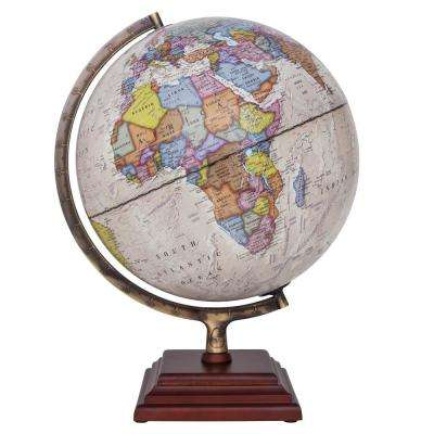 Atlantic II Illuminated 12 in. Desktop Globe