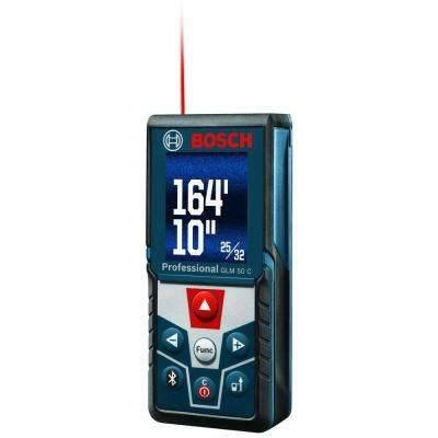 165 ft. Laser Measure with Bluetooth and Full Color Display