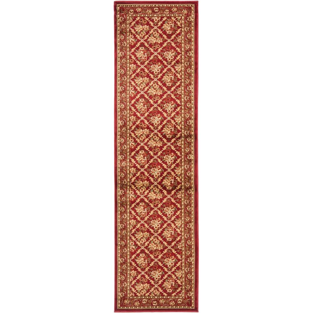 Safavieh Lyndhurst Red 2 ft. 3 in. x 16 ft. Runner