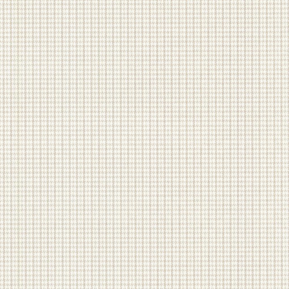 Countryside Khaki Houndstooth Wallpaper Sample