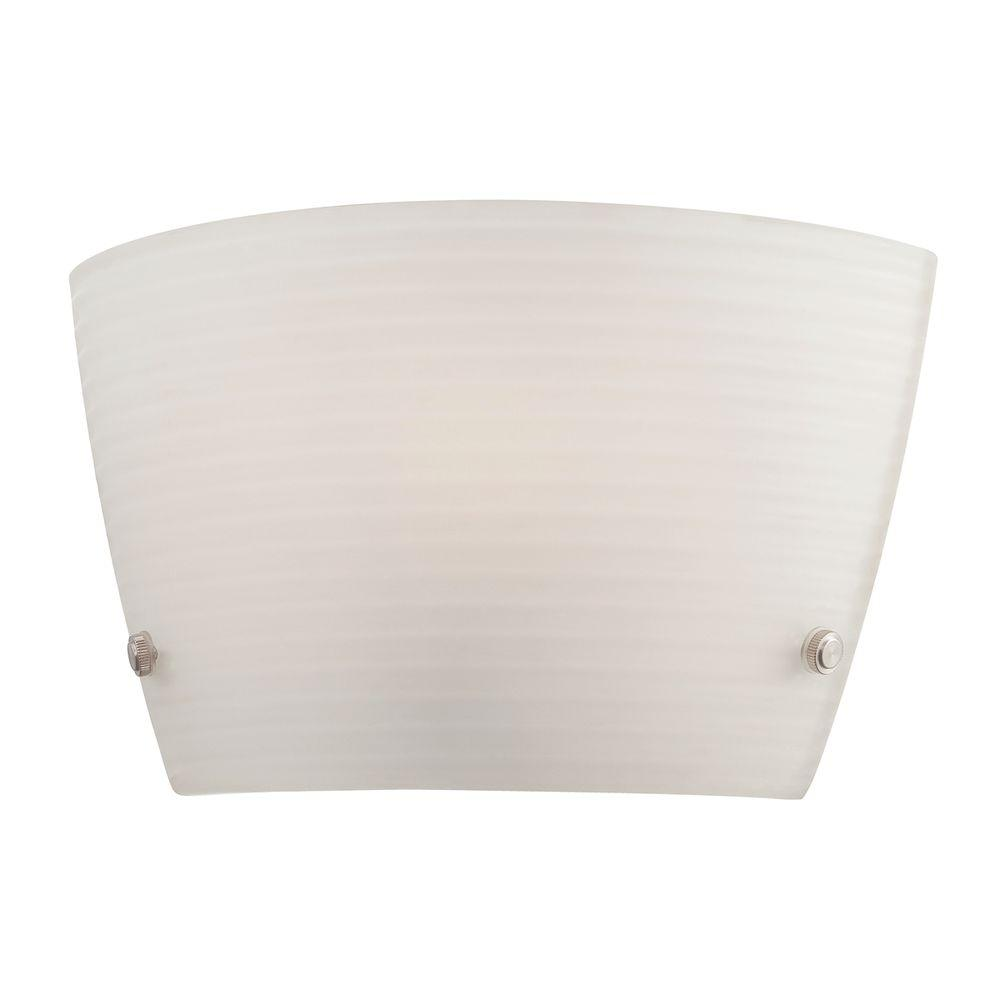 Eurofase Bold Collection 1-Light White Wall Sconce