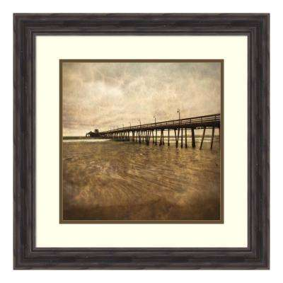 """Vintage Pier II"" by Ryan Hartson-Weddle Framed Wall Art"