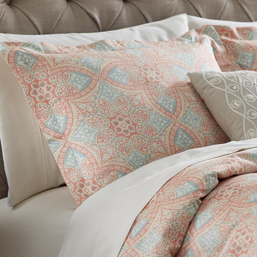 Alfresco Blaze Cotton Euro (King) Pillow Sham