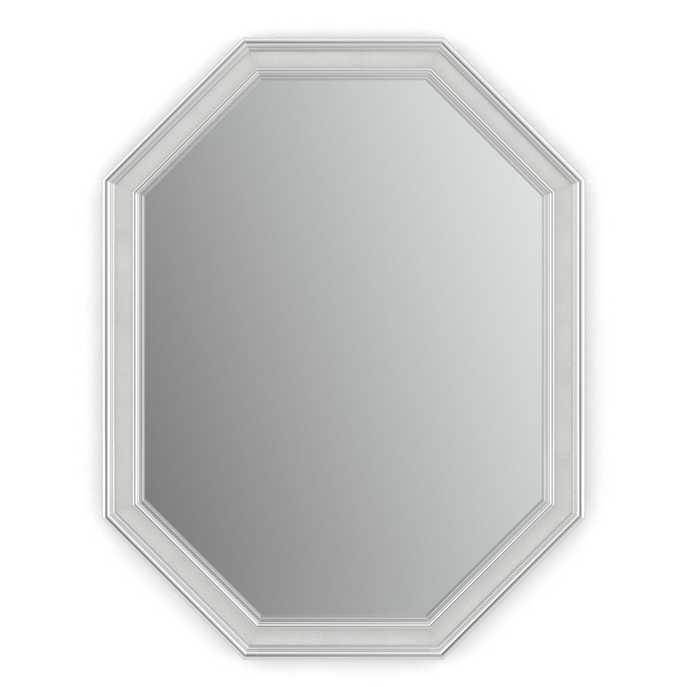 octagon bathroom mirror octagon vanity mirrors bathroom mirrors the home depot 13837