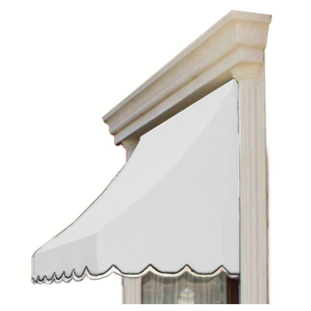 AWNTECH 6 ft. Nantucket Window/Entry Awning (56 in. H x 48 in. D) in Off-White
