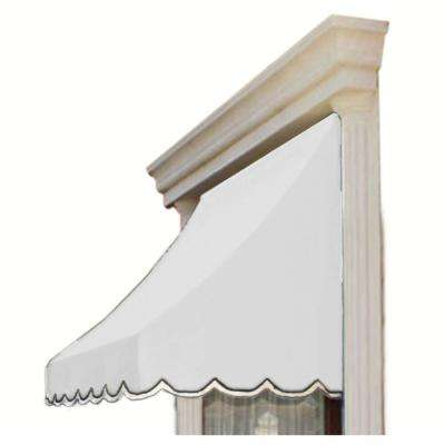 8 ft. Nantucket Window/Entry Awning (56 in. H x 48 in. D) in Off-White