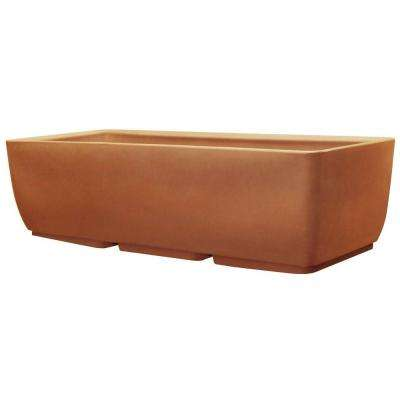 36 in. x 15 in. Terra Cotta Planter