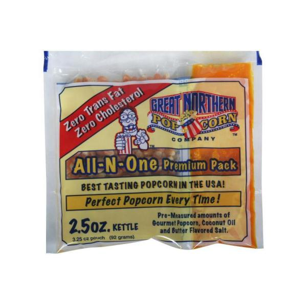 Great Northern 2.5 oz. All-In-One Popcorn (Pack of 24)