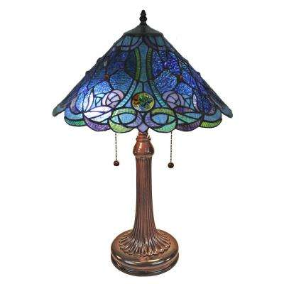 24 in. Tiffany Style Table Lamp