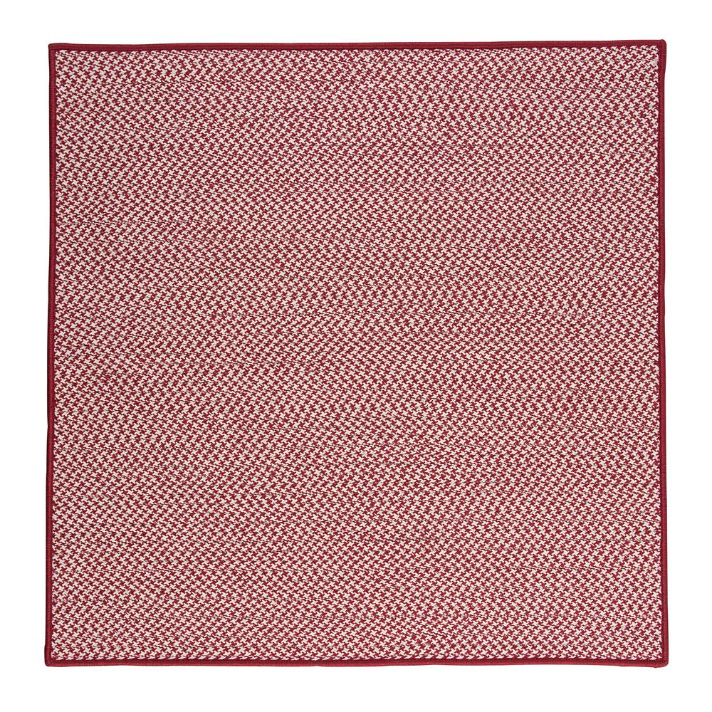 Home Decorators Collection Sadie Sangria 10 Ft X 10 Ft Indoor Outdoor Braided Area Rug