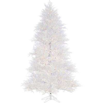 7.5 ft. Snowy Alpine Artificial Christmas Tree