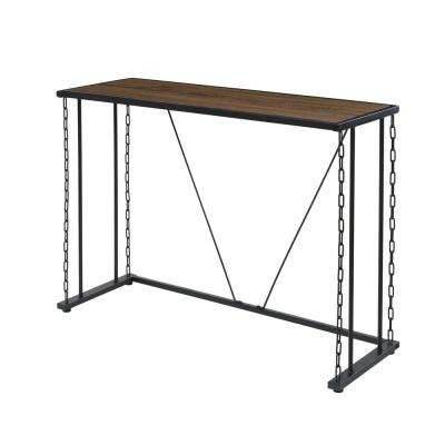 Folsom Ridge Console Table, with wood and carbon steel