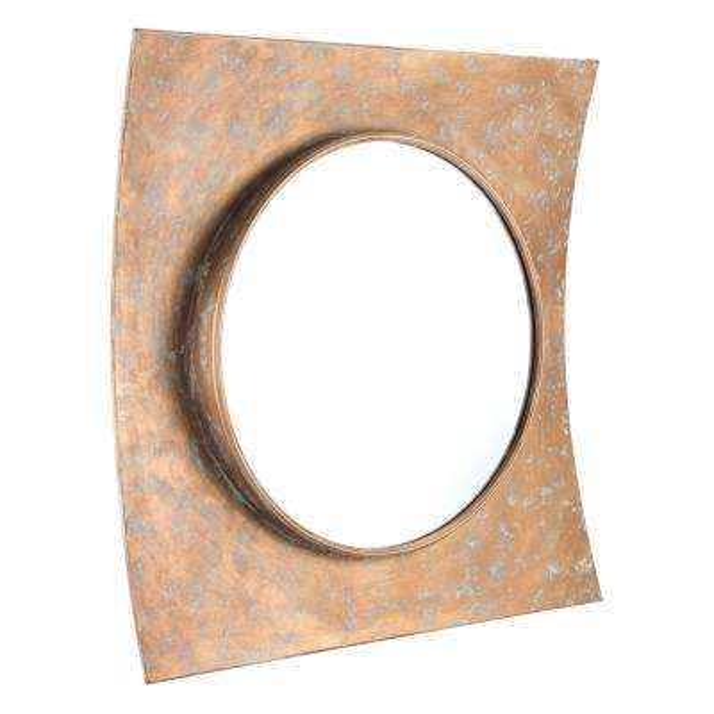 Cuadrado Gold Decorative Mirror