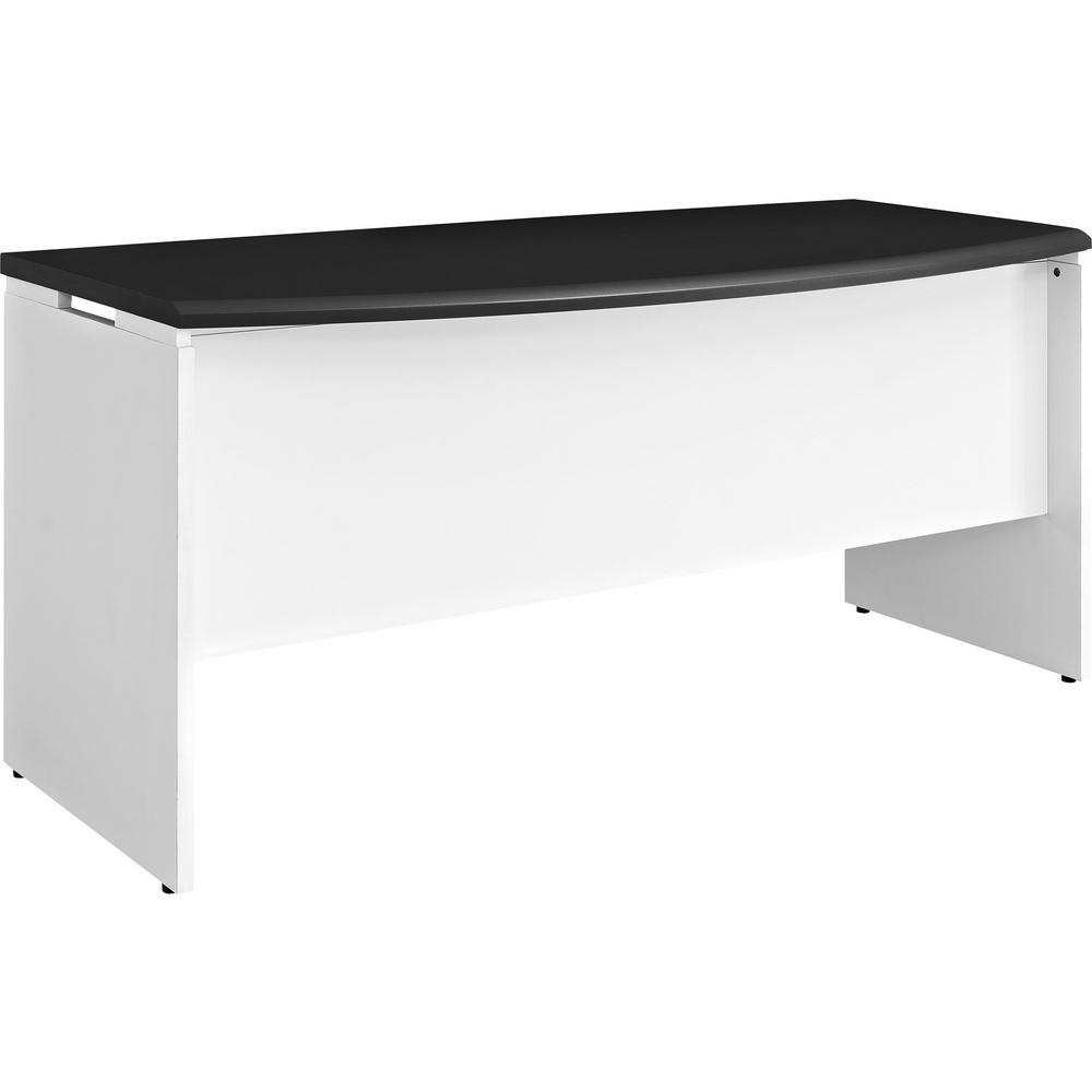 Ameriwood Home Mansfield White And Gray Computer Desk With Storage