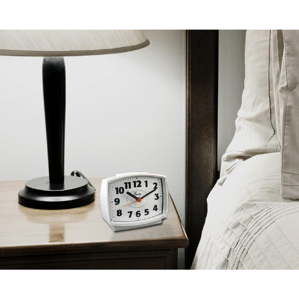 Sangean FM/AM/Aux-in Tuning Radio Controlled Alarm Clock-RCR