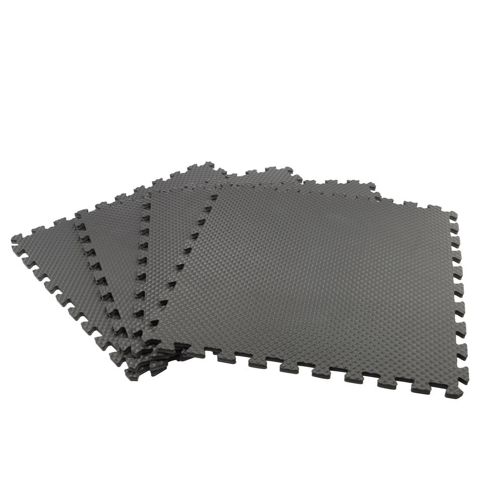 This Review Is From Black Gray 24 In X 0 47 Dual Sided Gym Floor 4 Pack