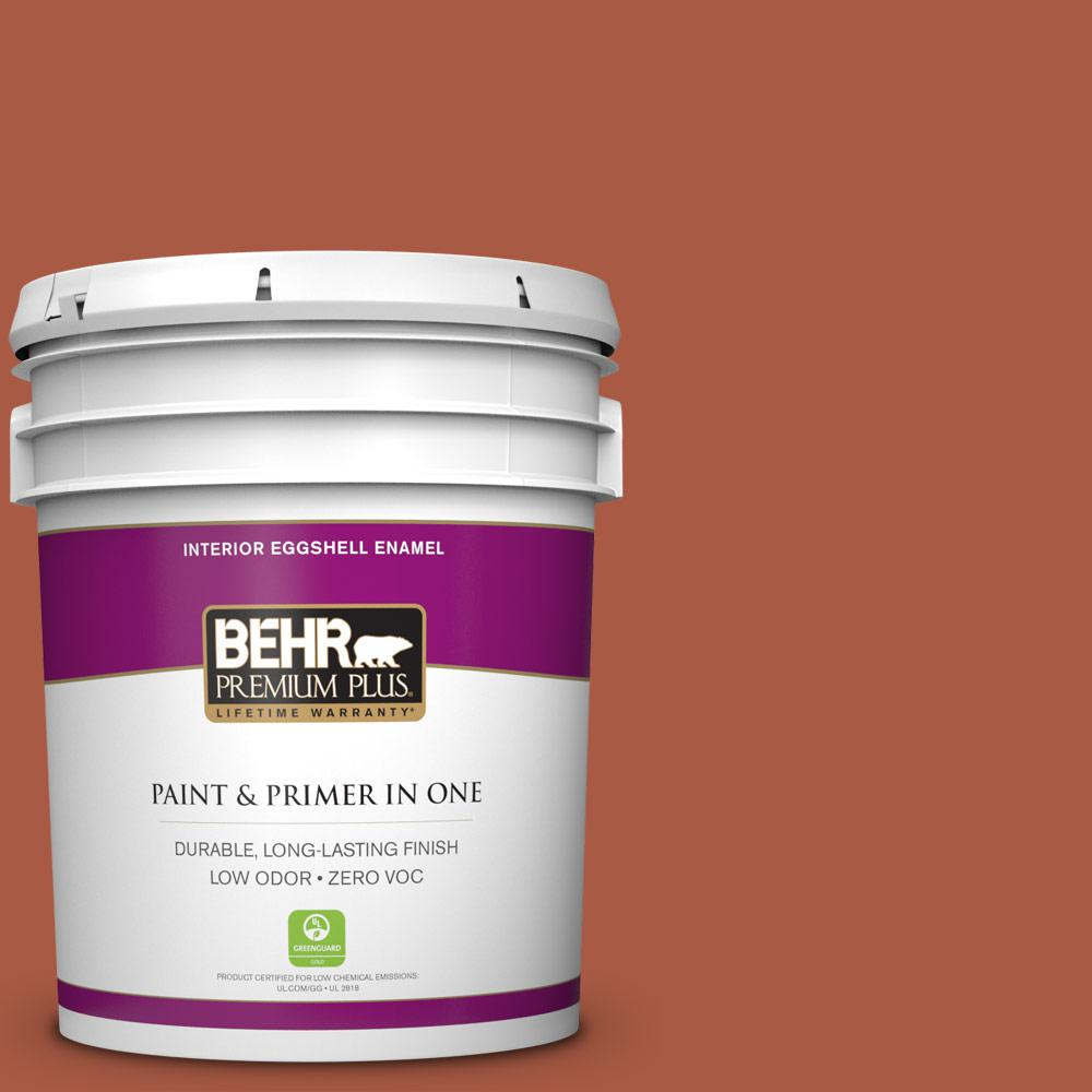 5 gal. #M190-7 Colorful Leaves Zero VOC Eggshell Enamel Interior Paint