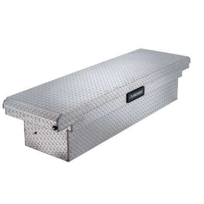 71.3 in. x 20.5 in. x 15.6 in. Aluminum Full Size Low Profile Saddle Truck Box