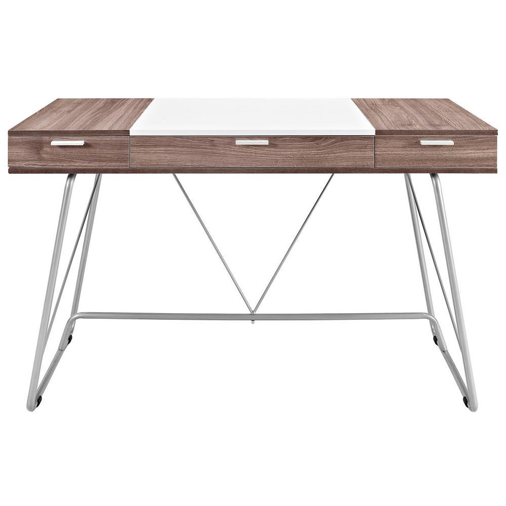 Groovy Modway Brown Panel Birch Office Desk Eei 1321 Bir The Home Download Free Architecture Designs Scobabritishbridgeorg