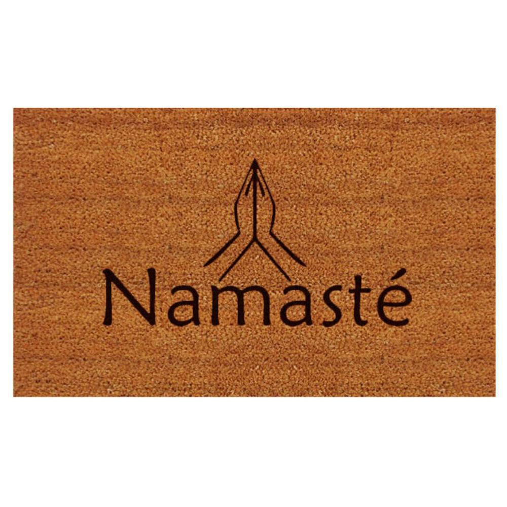 Namaste Door Mat 17 in. x 29 in.