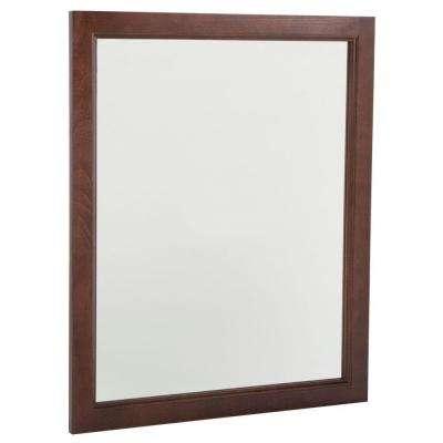 Regency 31 in. L x 26 in. W Wall Mirror in Auburn