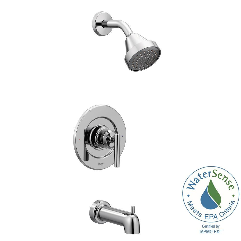 Moen Gibson 1 Handle Posi Temp Tub And Shower Faucet Trim Kit In