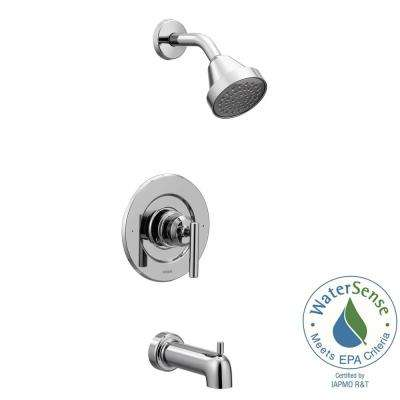 Gibson 1-Handle Posi-Temp Tub and Shower Faucet Trim Kit in Chrome (Valve Not Included)