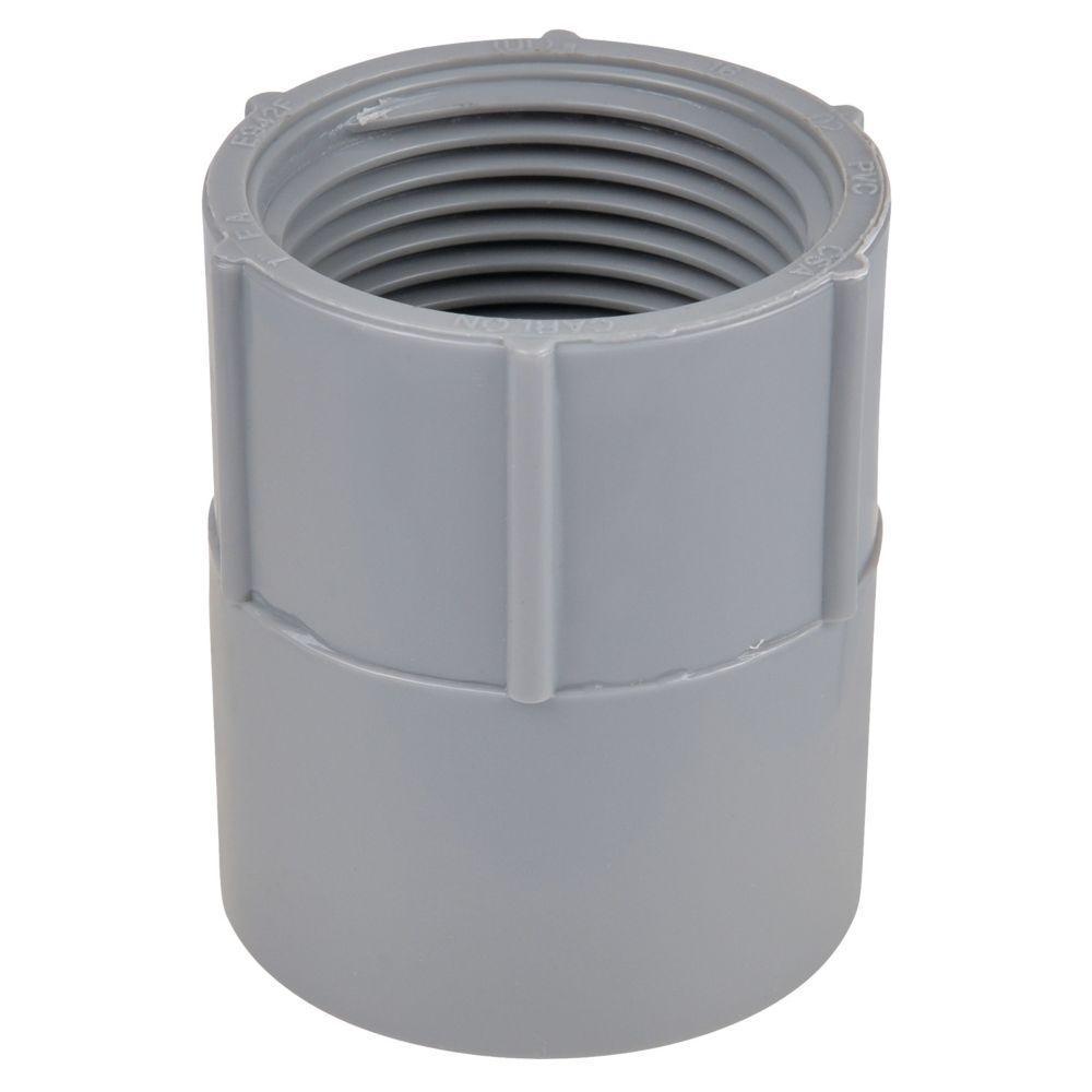1-1/2 in. Non-Metallic Female Adapter (Case of 5)