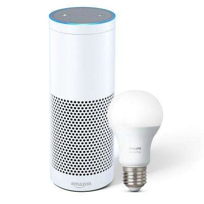Echo Plus and Philips Hue Bulb, White