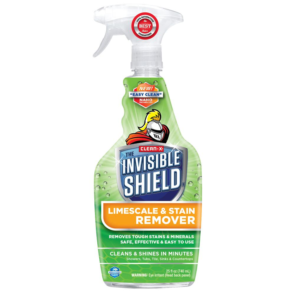 Clean X Invisible Shield Limescale And Stain Remover 57452 The