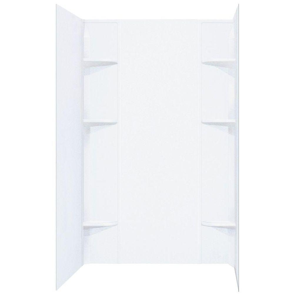 Plastic - Shower Walls & Surrounds - Showers - The Home Depot