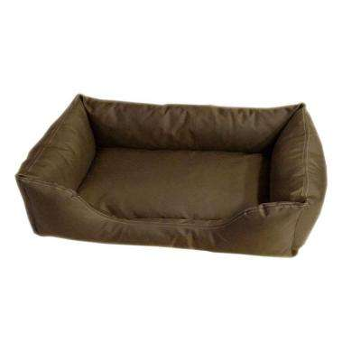 Brutus Tuff Kuddle Large Olive Lounge Bed
