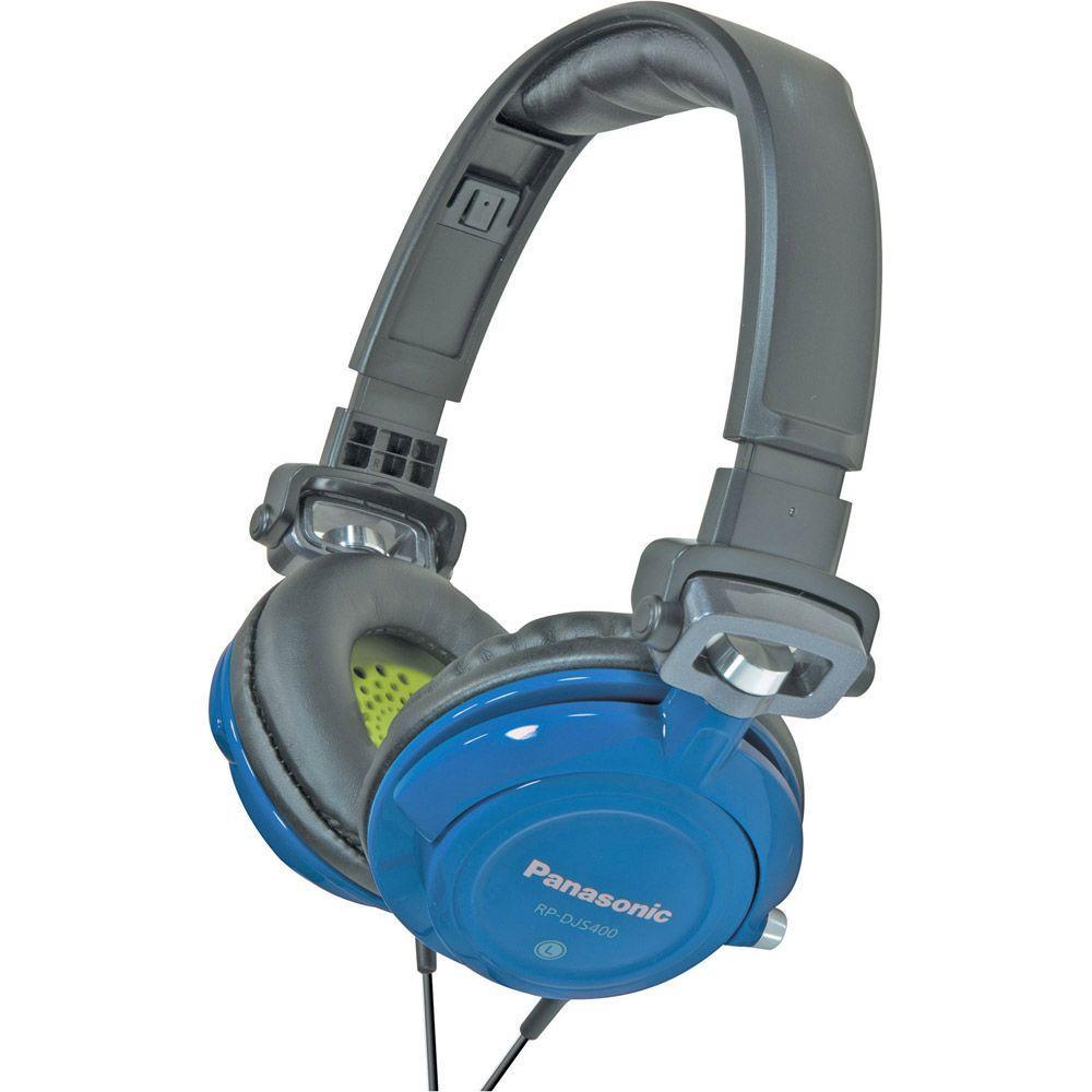 Panasonic DJ Street Model Headphones - Blue