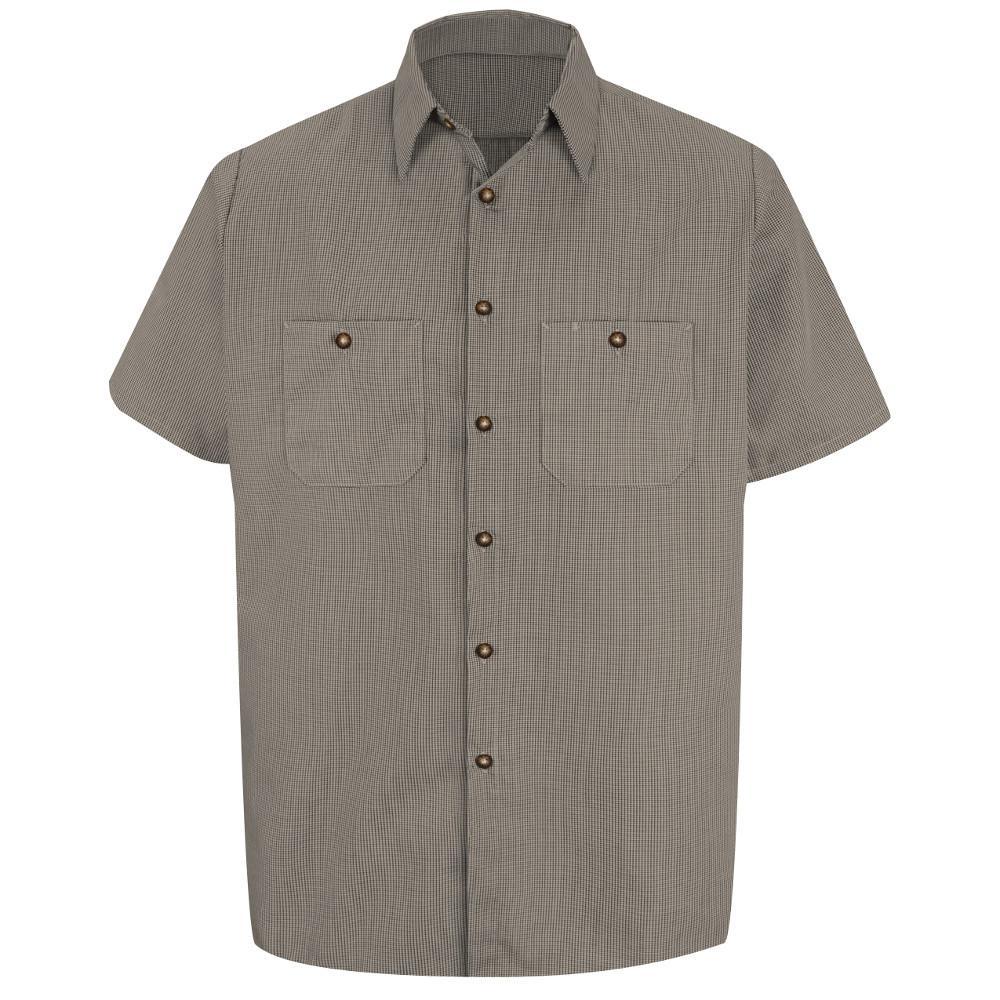 580a100e7ffaa Red Kap Men s Size 3XL x 36 37 Royal Blue Poplin Dress Shirt-SP90RB ...