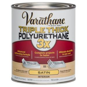 1 qt. Satin Triple Thick Polyurethane