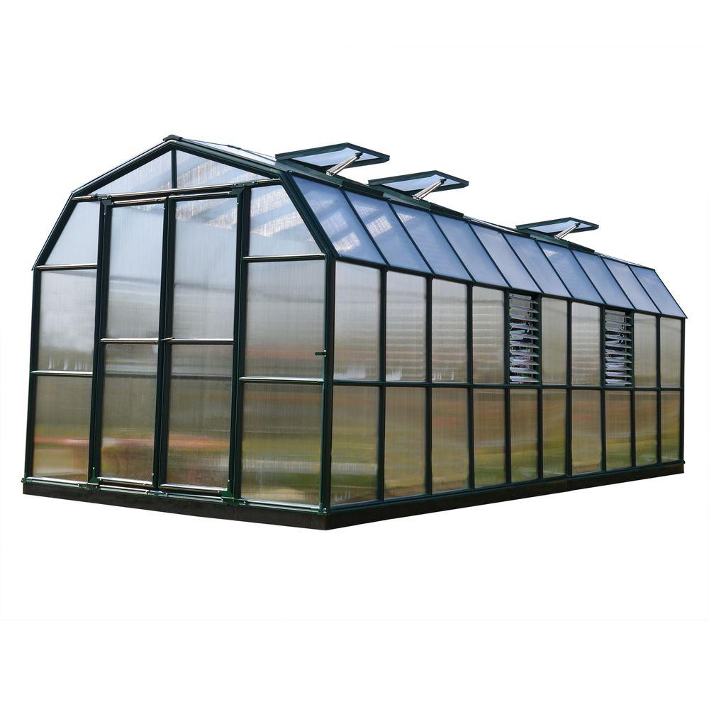 Rion Prestige 8 ft. x 20 ft. Opaque Greenhouse